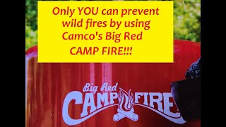 Camco Portable Camp Fires Big Red And Little Red Youtube