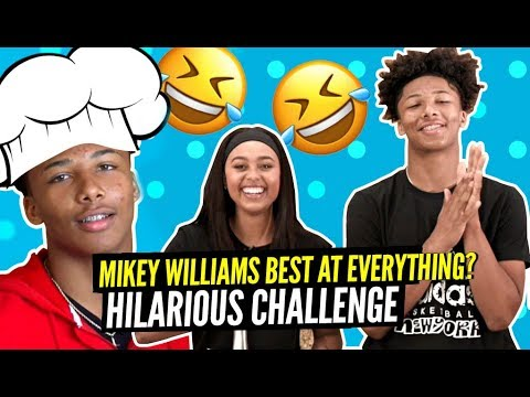 Mikey Williams Becomes CHEF SLIME & It's STRAIGHT COMEDY! His Favorite Player Is WHO!?