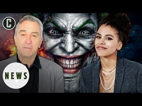 Joker Movie Adds Robert De Niro & Zazie Beetz