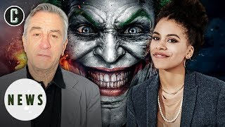 Joker Movie Adds Robert De Niro & Zazie Beetz