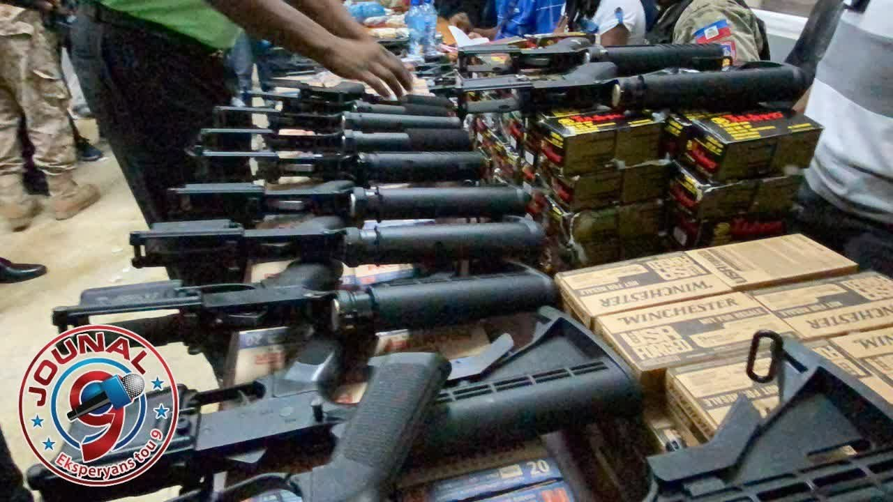 Haitian Government just received more guns for the street gang in Port-au-Prince.