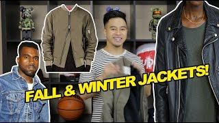 TOP 5 JACKETS FOR FALL & WINTER!