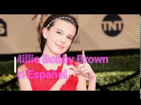 millie bobby brown espanol