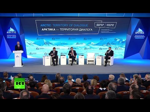 LIVE: Putin talks at Intl Artic Forum in Russia