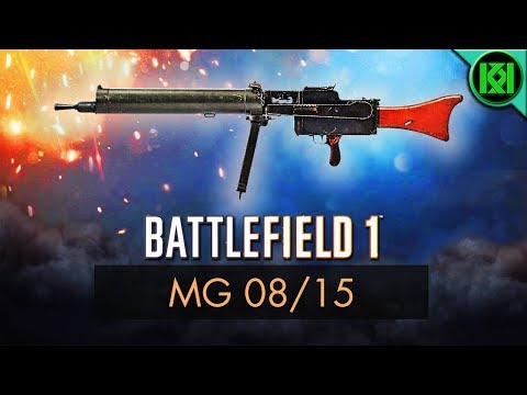 Battlefield 1: MG 08/15 Review (Weapon Guide) | BF1 Weapons | BF1 Multiplayer Gameplay