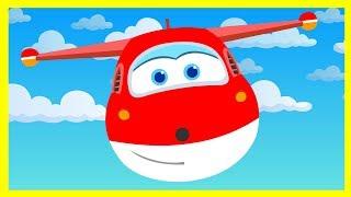 Супер Крылья - Джетт собирает звёзды - Мультик про самолёты - Super Wings