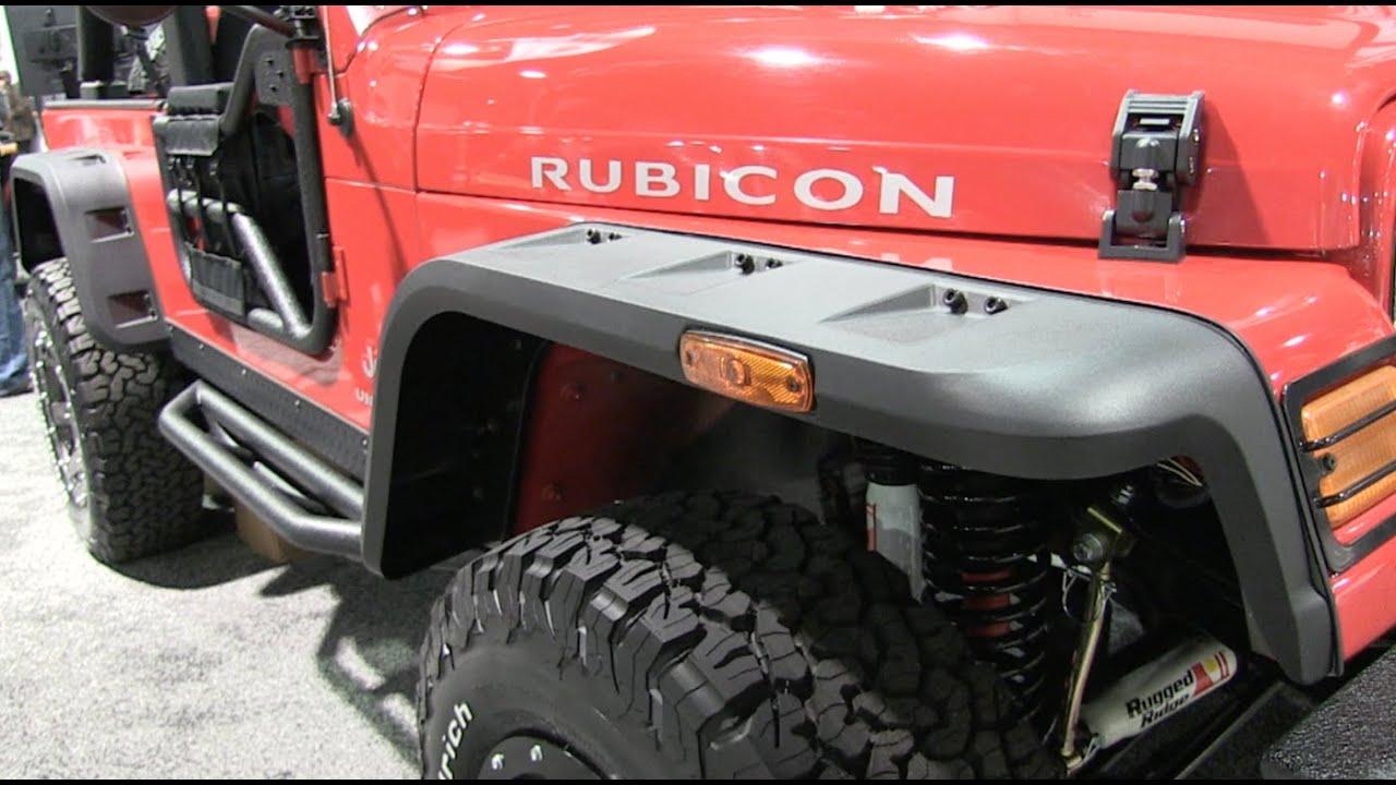 Rugged Ridge Hurricane Flare For Jeep Wrangler TJ Review   YouTube