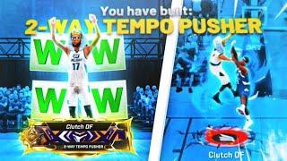 "FIRST EVER LEGEND ""2-WAY TEMPO PUSHER"" DOMINATES THE *NEW* RUSH 1v1 EVENT NBA2K20! RARE BUILD 2K20"