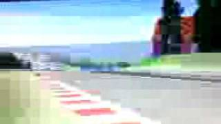 Eddie Irvine Huge crash in Spa Franchorshamps