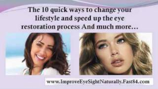 improve eyesight fast