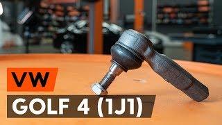 Hvordan bytte Styrekule VW GOLF IV (1J1) - online gratis video