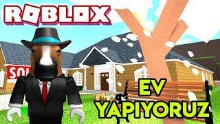 🏠 Estamos construindo nossa própria casa 🏠 | Home Tycoon | Roblox inglês