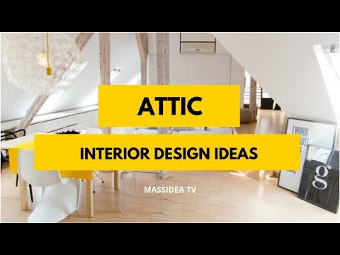 75+ Relaxing Attic Interior Design Ideas Can Make at Home