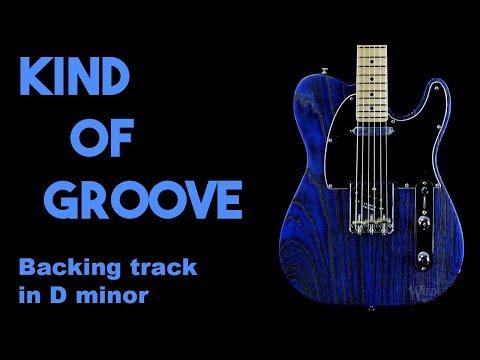 Kind Of Groove Backing Track in Dm SZBT 16
