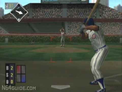 All-Star Baseball 99 - N64 Gameplay