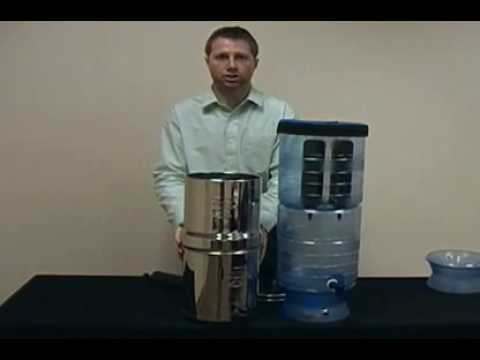 Big Berkey Water Filter Overview Video Big Berkey w Comparison to