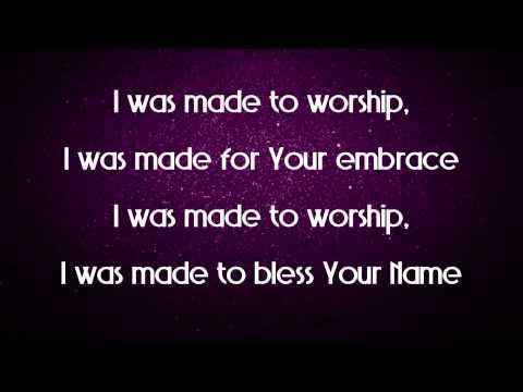 Made For Worship - Planetshakers Demo CD (Studio Version) Lyric Video