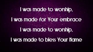 Made For Worship - Planetshakers Demo CD (Studio Version) Lyric Video
