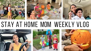 STAY AT HOME MOM WEEKLY VLOG // Jessica Tull