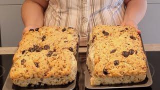 Kıbrıslı komşumuzla, Kıbrıs zeytinli ekmeğini yaptık! Nefis oldu👍