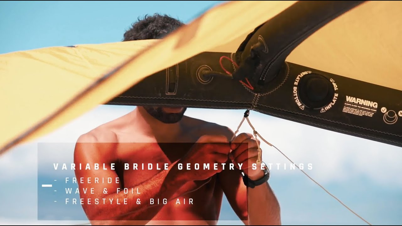Enduro V2 - Variable Bridle Geometry