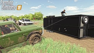 GOOSENECK HITCH BROKE (TRAILER ACCIDENT) | IOWA FARM ROLEPLAY | FARMING SIMULATOR 2019