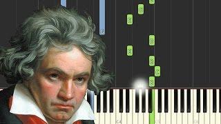 Beethoven: Piano Sonata No.3, Op.2 No.3, 2nd Movement (Adagio) | [Piano Tutorial] - Synthesia