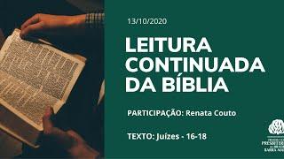 LEITURA CONTINUADA DA BÍBLIA