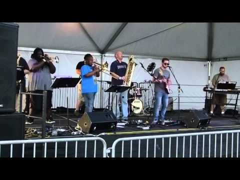 Funkin' A at the GSB Music Fest Friday July 18th, 2014