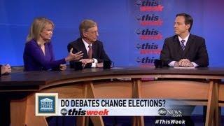 2012 Presidential Debate Format, Role of Moderator: