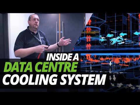 A DAY in the LIFE of the DATA CENTRE | INSIDE a DATA CENTRE COOLING SYSTEM!