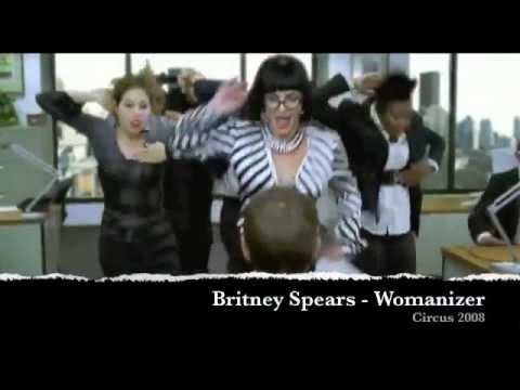Best Ladies Dances Part 2  of JSpearcee LadyGagaVevo BritneySpearsVEVO JenniferLopezVEVO