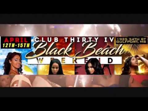 Spring Break 2018 - Black Beach - Gulfport/Biloxi, MS
