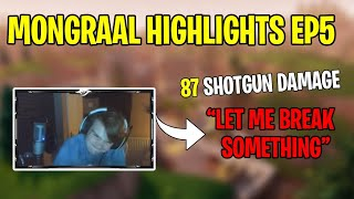 INSANE, FUNNY, CRAZY MOMENTS OF MONGRAAL IN FORTNITE! Best of Mongr...