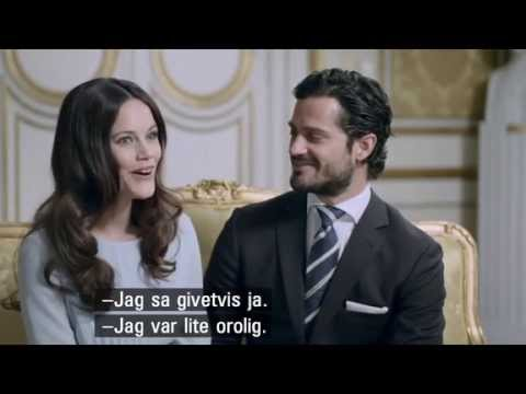 Sofia and Carl Philip Pre-Wedding Interview