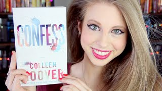 CONFESS BY COLLEEN HOOVER | booktalk with XTINEMAY