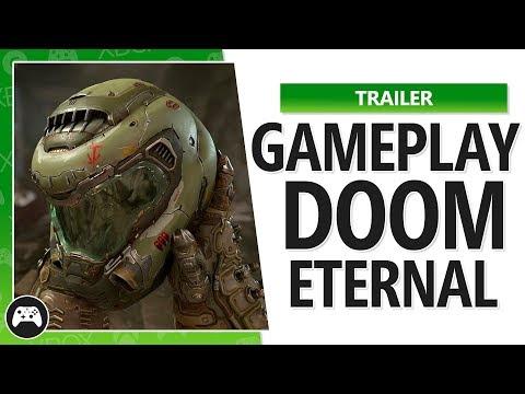 Gameplay DOOM Eternal – O Inferno na Terra – Gamescom 2018