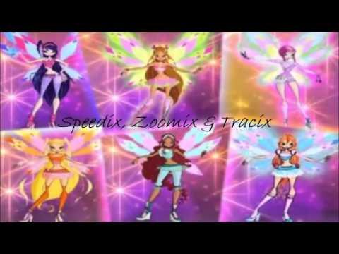 Winx Club Speedix Zoomix Tracix Winx Club Speedix, Zoo...