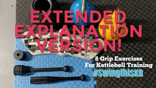 Kettlebell Grip Endurance Exercises FULL LENGTH IN DEPTH VIDEO