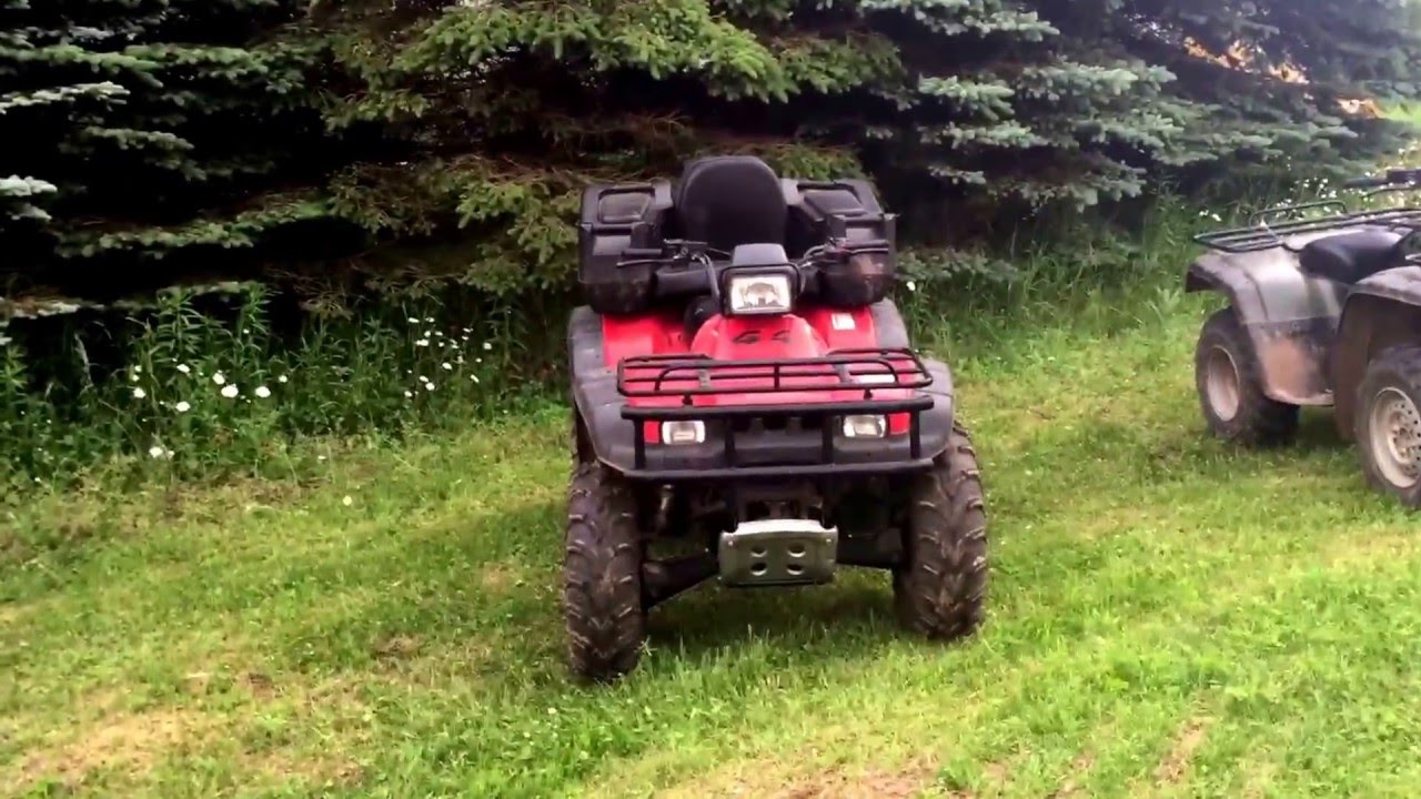 Review on 2000 Honda Rancher 350, 2001Honda Foreman 450, 2006 Yamaha  Grizzly 660