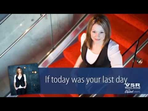 """If Today Was Your Last Day"" by Anna from VSR music group"