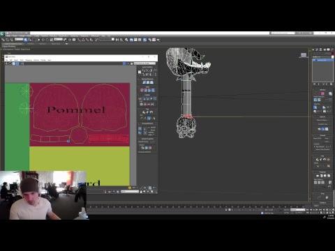 Weapon Contest Winner!- Viking Skull Sword Model w/Jon! - Art of Camelot Unchained- 3/13/2018
