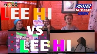 "LEE HI - ""손잡아 줘요 (HOLD MY HAND) VS 한숨 (BREATHE)NON KPOP FAN  REACTION"
