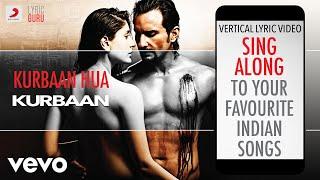 Kurbaan Hua - Kurbaan|Official Bollywood Lyrics|Vishal Dadlani