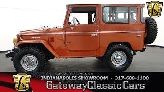 1977 toyota fj40 land cruiser gateway classic cars indianapolis 393 ndy