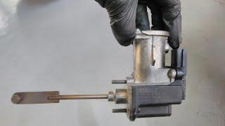 shkoda yeti. 1.2 cbbz. иногда глохнет. восстановление привода турбины