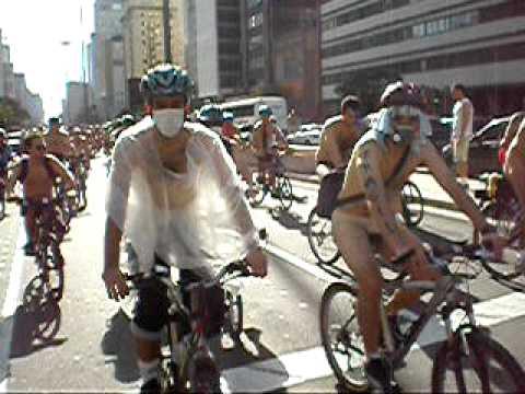 WNBR 2008 - São Paulo - Bicicletada Pelada