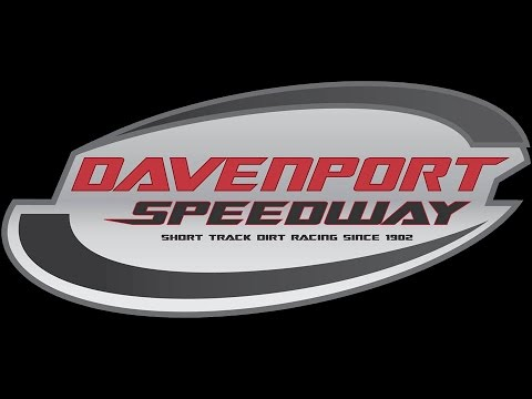 davenport speedway late model feature 040717 movie