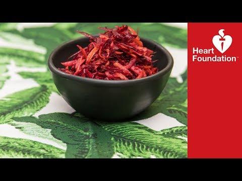 Beetroot & Carrot Salad Recipe | Heart Foundation NZ