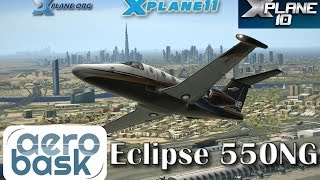 Aerobask Eclipse 550NG for X-plane 11